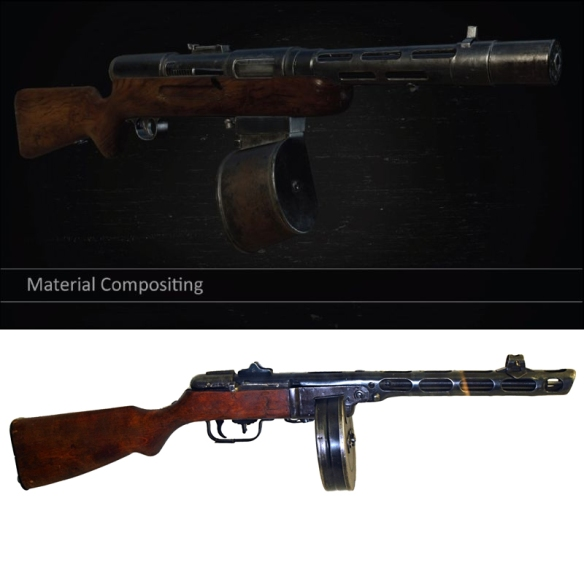 """The """"M85 Automatische"""" is just a PPSh 41 with a slightly different ammo drum."""